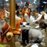 A wide range of wildlife figures, from pheasants to foxes