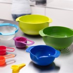 Compact food preparation sets